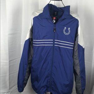 Reebok NFL Colts Zip up jacket Men's Large